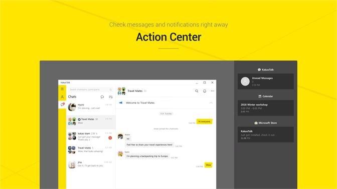Screenshots Kakao Talk - Nhắn tin, gọi điện miễn phí