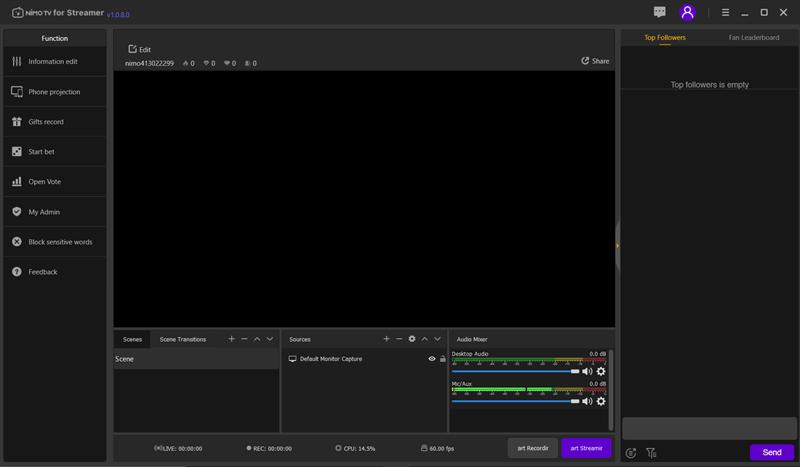 Screenshots Nimo TV - Ứng dụng Live Stream game chuyên nghiệp