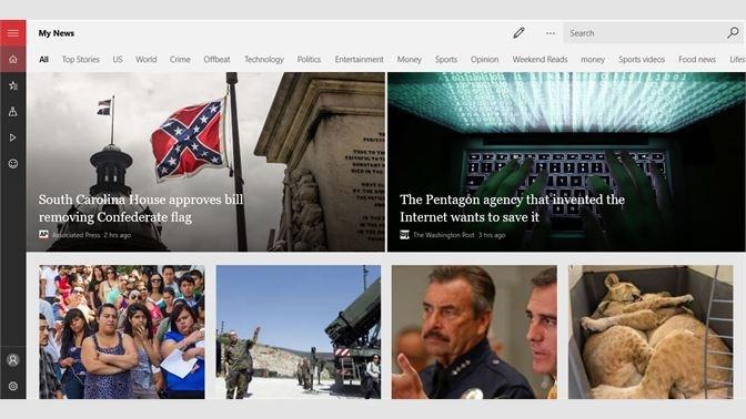 Screenshots Microsoft News - Đọc báo, cập nhật tin tức 24/7 trong và ngoài nước
