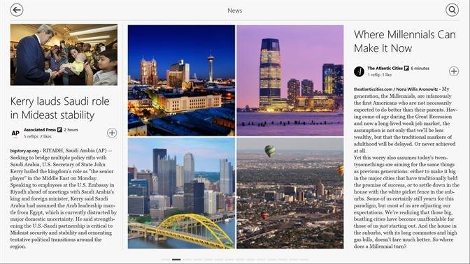 Screenshots Flipboard -  Cập nhật tin mới nhất 24/7, đọc báo miễn phí trên Android và iOS