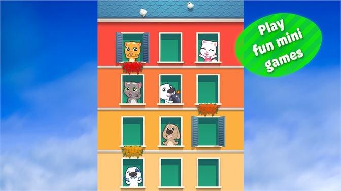 Screenshots Talking Tom Cat 2 - Game nói cùng mèo Tom | Mèo nhái tiếng người