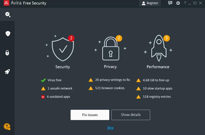 Screenshots Avira: Phần mềm diệt virus miễn phí dành cho điện thoại
