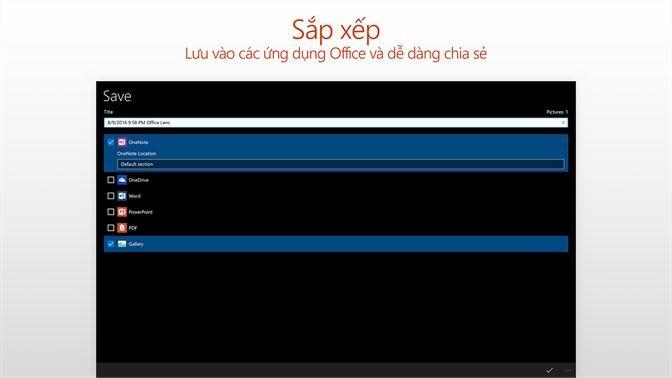 Screenshots Microsoft Office Lens: Ứng dụng quét, scan tài liệu, ảnh ngay trên điện thoại
