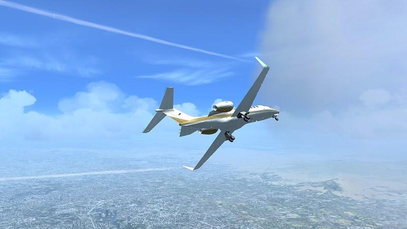 """Screenshots Flight Simulator - Game mô phỏng lái máy bay """"2 triệu GB"""" Microsoft"""