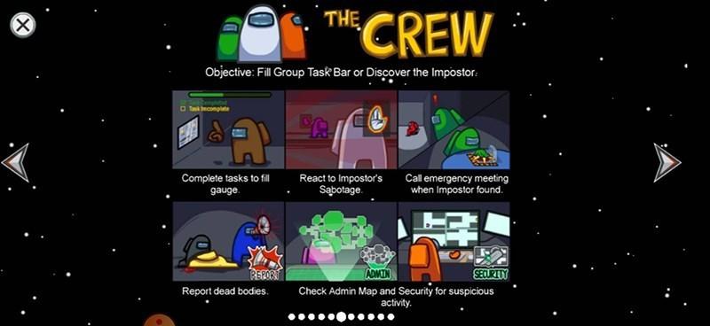 Screenshots Among Us - Game phong cách Ma Sói online