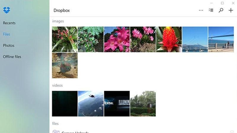 Screenshots Dropbox - Ứng dụng lưu trữ đám mây, sao lưu và chia sẻ dữ liệu