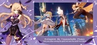 Screenshots Genshin Impact - Xứ sở thần tiên | Game nhập vai Anime