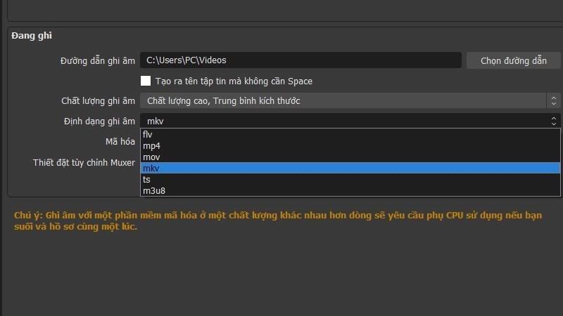 Screenshots OBS Studio: Phần mềm live stream màn hình lên Facebook, Youtube