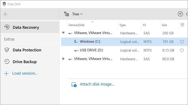 Screenshots Disk Drill - Phần mềm khôi phục dữ liệu trên Mac, Windows