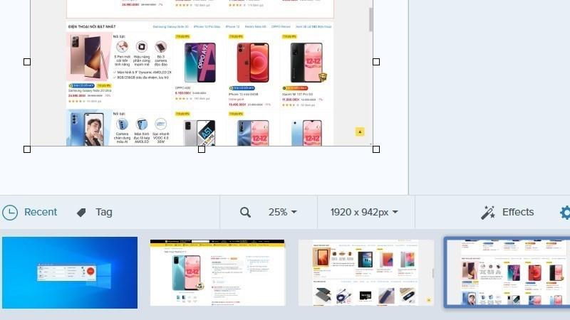 Screenshots Snagit 2020 - Phần mềm chụp ảnh, quay video màn hình trên Mac, Windows