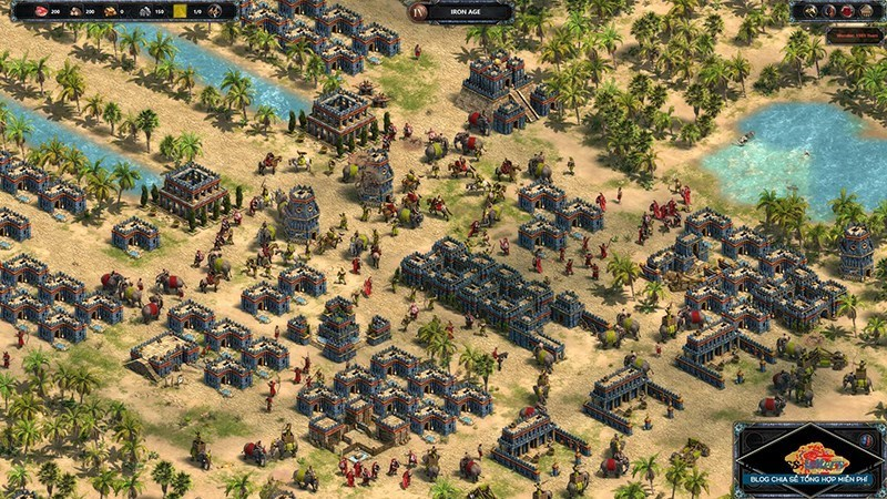 Screenshots Age of Empire (AoE) - Đế Chế | Game chiến thuật