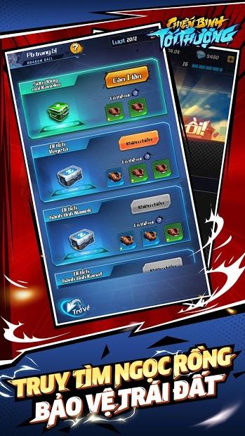 Screenshots Chiến Binh Tối Thượng - Game chiến thuật 7 viên Ngọc Rồng