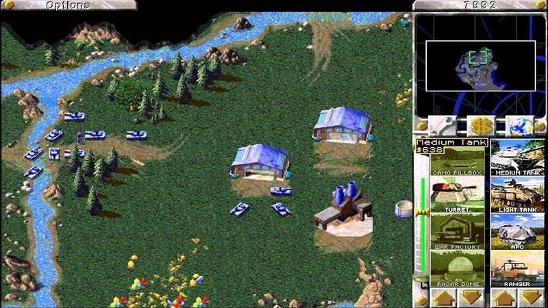 Screenshots Tải game Comando & Conquer Red Alert - Game chiến thuật kinh điển