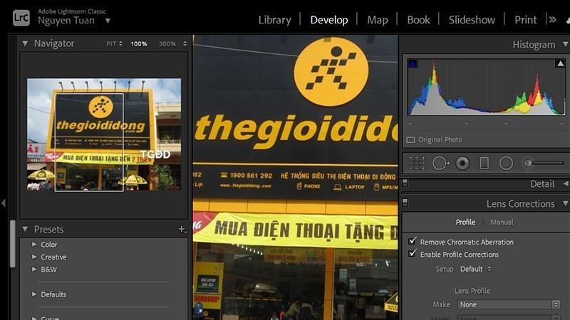 Screenshots Tải Adobe Lightroom CC: Phần mềm chỉnh sửa, xử lý ảnh RAW chuyên nghiệp