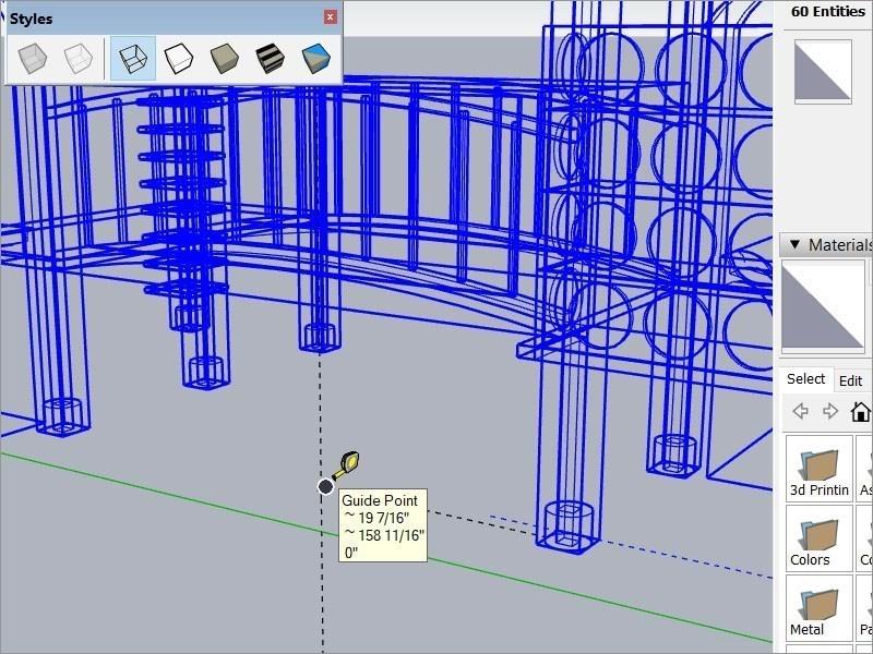 Screenshots Tải SketchUp: Phần mềm thiết kế kiến trúc 3D, đồ họa phim và game