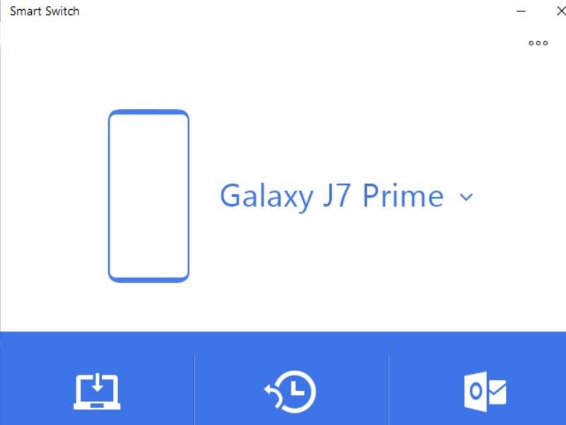 Screenshots Smart Switch - Truyền và đồng bộ dữ liệu điện thoại Samsung với các thiết bị khác