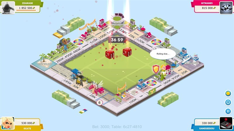 Screenshots Business Tour - Board game phong cách cờ tỷ phú