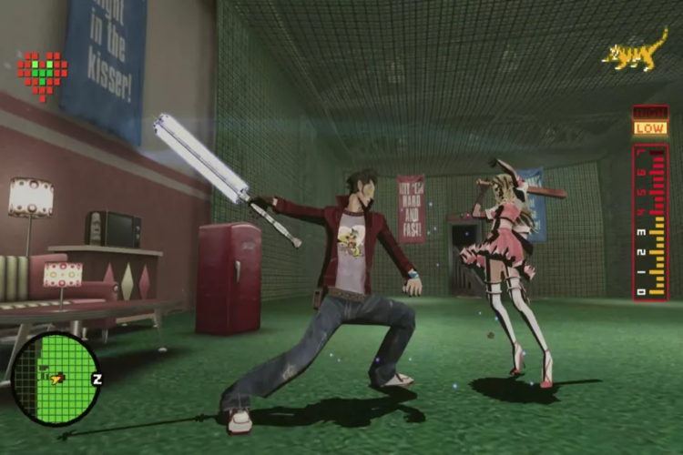 Screenshots No More Heroes - Game hành động quái dị trên đường phố