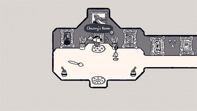 Screenshots Chicory: A Colorful Tale - Game nhập vai chú chó tô màu thế giới