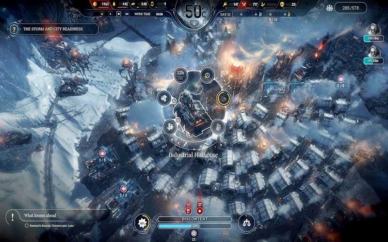 Screenshots Frostpunk - Game sinh tồn trong thời tiết khắc nghiệt