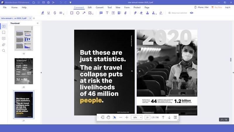Screenshots PDFelement - Trình đọc, chú thích và quản lý PDF miễn phí