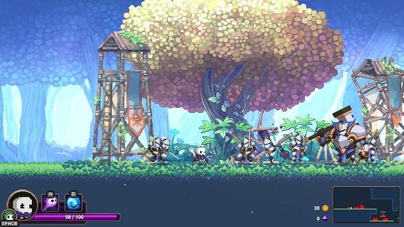 Screenshots Skul: The Hero Slayer - Lâu Đài Quỷ Vương | Game đi cảnh