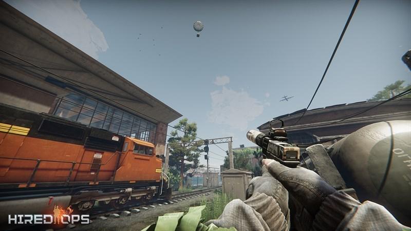 Screenshots Hired Ops - Biệt Đội Lính Đánh Thuê | Game bắn súng FPS đỉnh cao