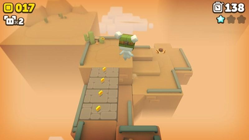 Screenshots Suzy Cube - Kho báu của Castle Cubeton   Game đi cảnh thú vị