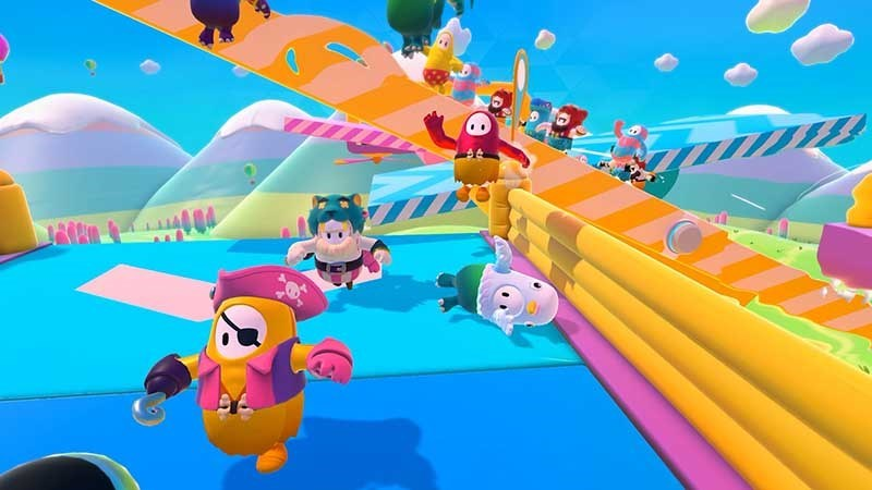 Screenshots Fall Guys: Ultimate Knockout - Game Battle Royal đầy màu sắc