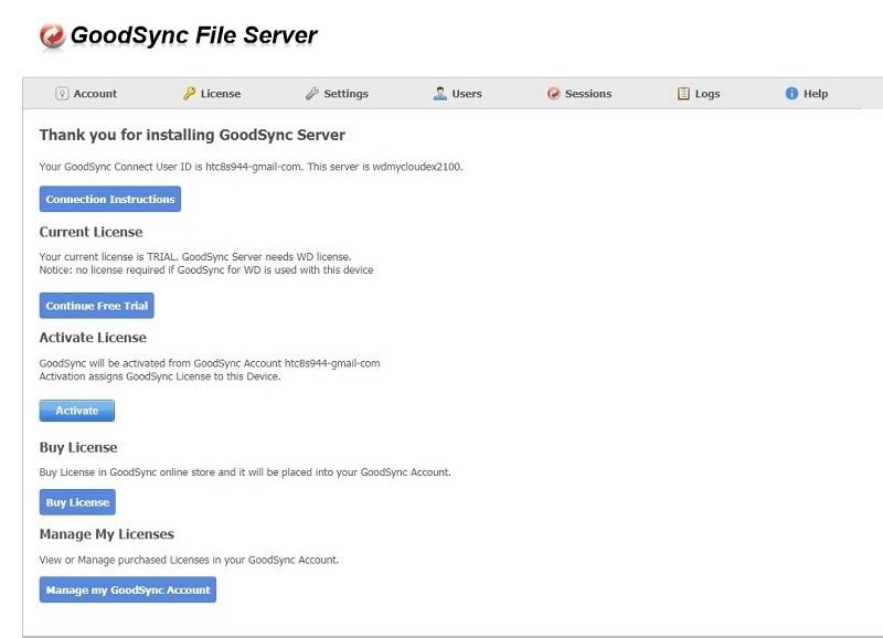 Screenshots Tải Goodsync: Ứng dụng sao lưu và đồng bộ hóa tệp dễ dàng