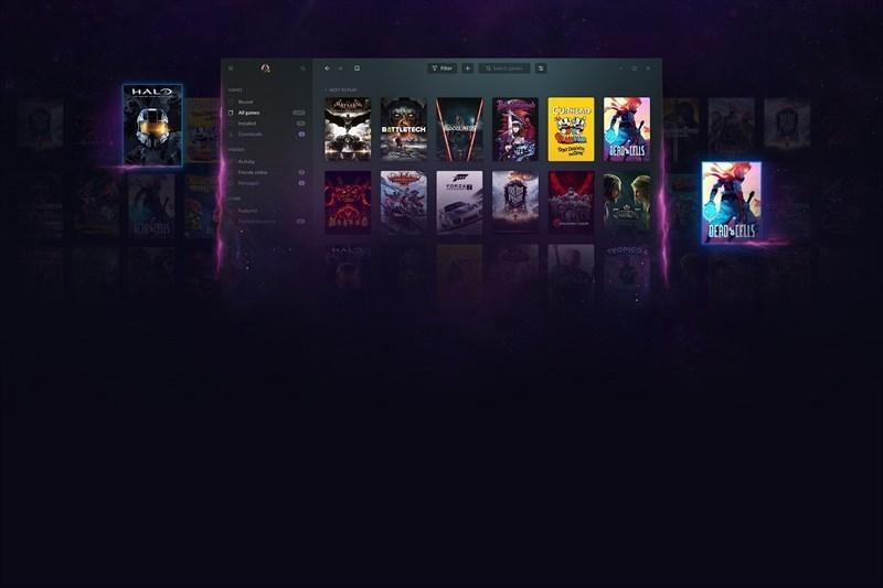 Screenshots GOG GALAXY 2.0: Cửa hàng game trực tuyến bản quyền của CD Projekt