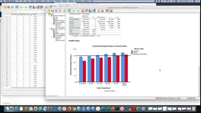 Screenshots Phần mềm SPSS: Công cụ phân tích dữ liệu khoa học