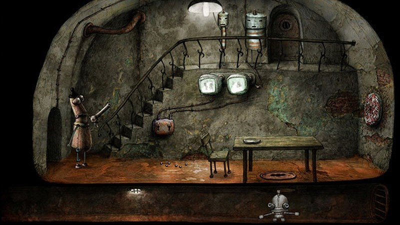 Screenshots Machinarium - Thế Giới Người Máy   Game phiêu lưu giải đố