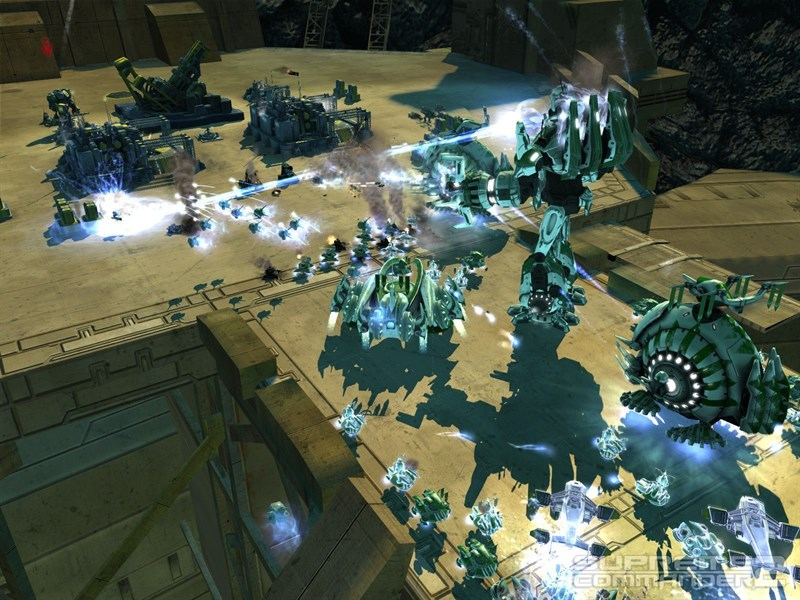 Screenshots Supreme Commander 2 - Game chiến lược giả lập tương lai