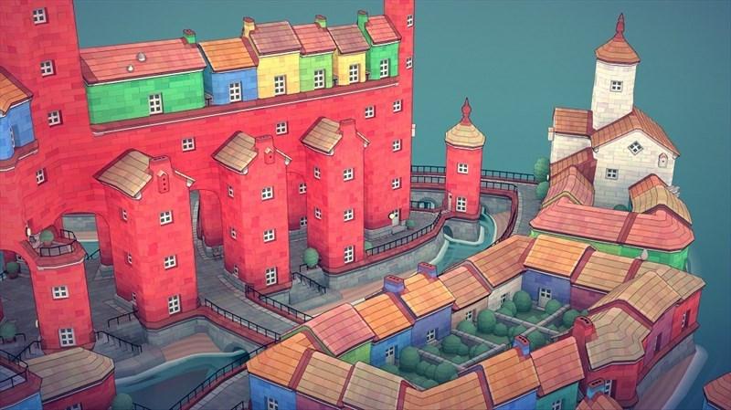 Screenshots Townscaper - Game mô phỏng xây dựng thành phố