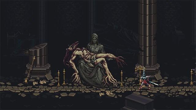 Screenshots Blasphemous - Tựa game chặt chém theo phong cách Pixel