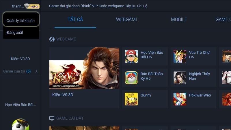 Screenshots 360Game Plus – Chơi game mobile mượt mà, bẻ cong mọi giới hạn
