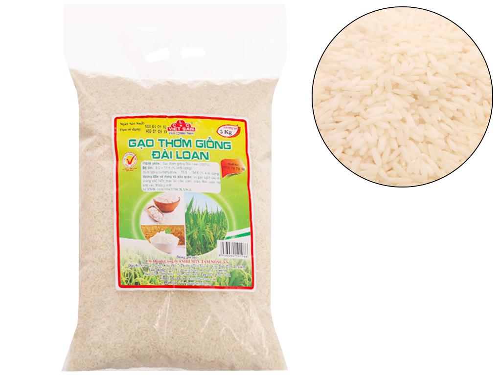 Gạo thơm giống Đài Loan 5kg