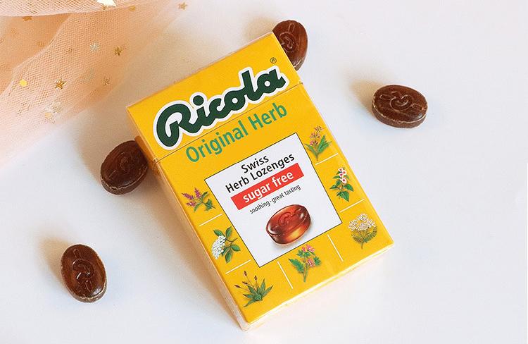 Kẹo ngậm thảo dược Ricola Original Herb 1