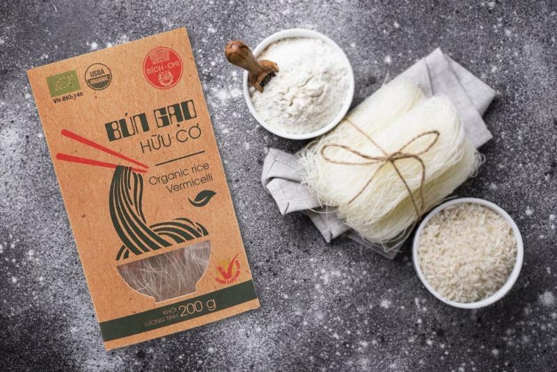 Bún gạo hữu cơ Bích Chi