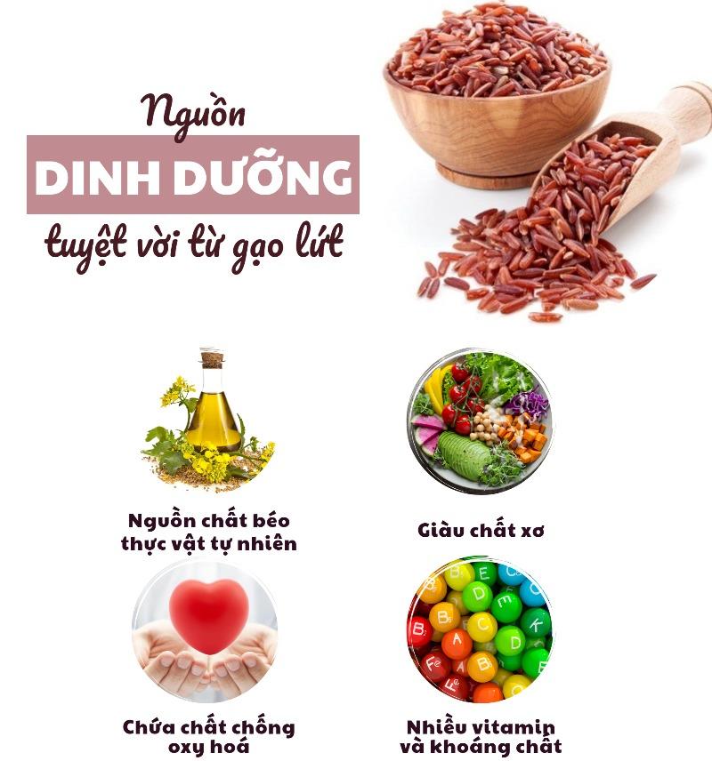 Nguồn dinh dưỡng từ gạo lứt