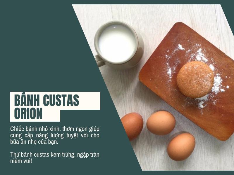 Bánh custas kem trứng 4