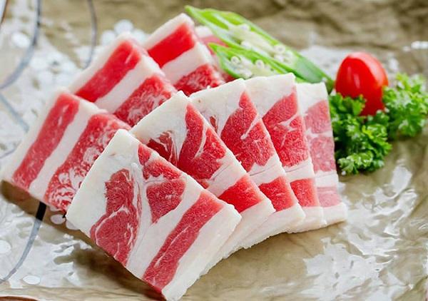 Thịt ba chỉ bò Mỹ Orifood King BBQ hộp 300g giá tốt