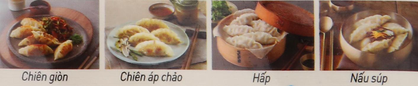 Các cách chế biến mandu hải sản Bibigo
