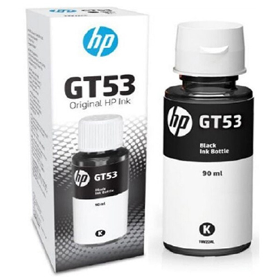 Mực in phun HP GT53 90ml Đen Original Ink Bottle_1VV22AA
