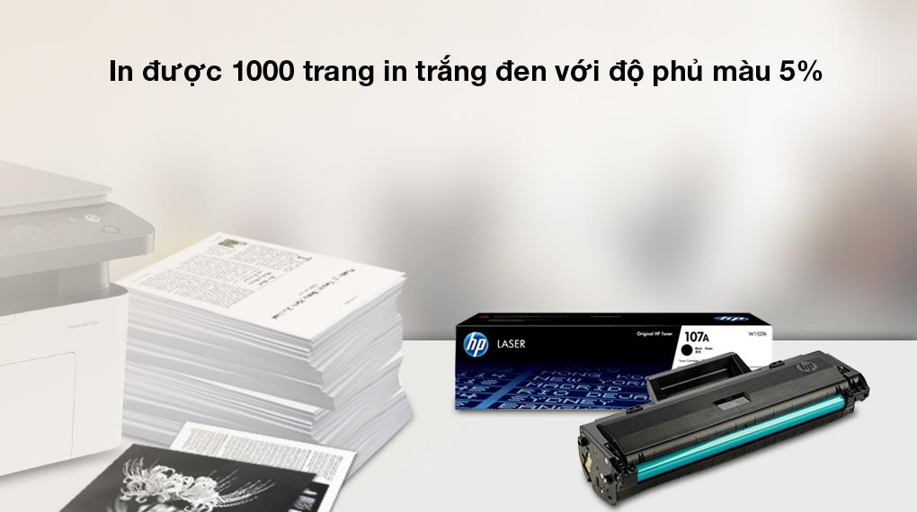 Hiệu suất cao - Mực in laser HP 107A Original Laser Toner Cartridge_W1107A