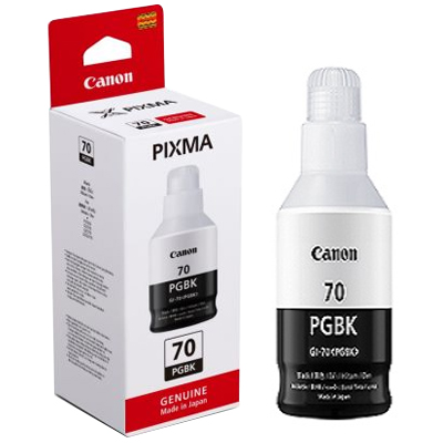 Hộp mực in phun Canon GI-70 PGBK Đen