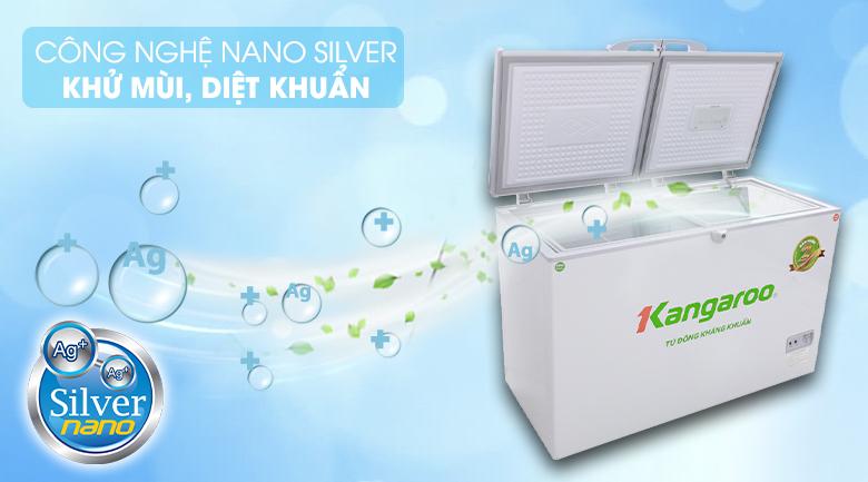 Công nghệ Nano Silver - Tủ đông Kangaroo KG388C2