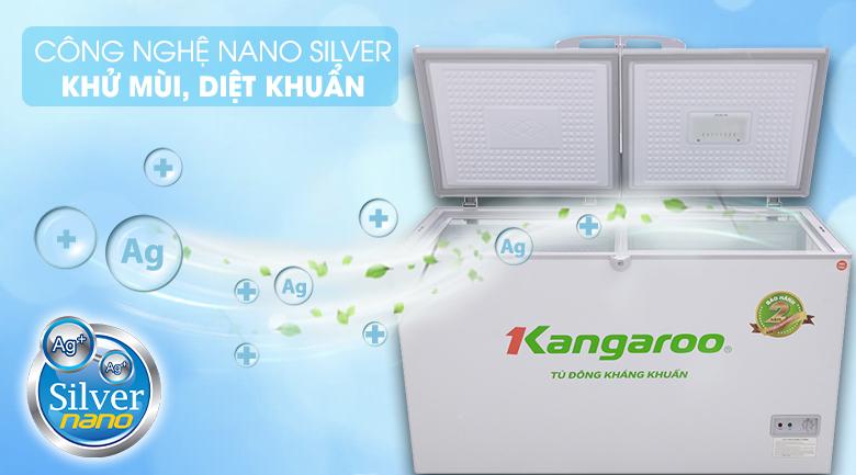 Lớp phủ Nano Bạc - Tủ đông Kangaroo KG418C2