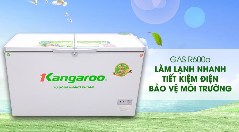 Gas R600a - Tủ đông Kangaroo KG418C2
